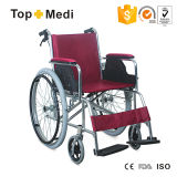 Fauteuil roulant en aluminium automoteur économique d'équipement médical de Topmedi pour des handicapés
