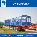 [تيتن] 3 محور العجلة سياج شحن شاحنة وعاء صندوق نقل [سمي] مقطورة