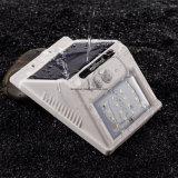 Lampe de mur solaire imperméable à l'eau sans fil de détecteur de mouvement (RS2003-8-4PK)