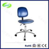 青いPU革調節可能なESDのクリーンルームの椅子(EGS-3309-LHL)