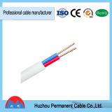 Cable de alambre eléctrico de BVVB hecho en China