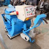 Limpieza de la roya de la placa de acero horizontal Granallado máquina