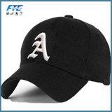Baseballmütze Sports Schutzkappen-Typen und geläufige Gewebe-Merkmals-Zoll-Stickerei
