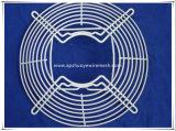 축 크롬에 의하여 용접된 철사 또는 배출 산업 팬 석쇠 가드가 PVC에 의하여 직류 전기를 통했다