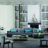 Rincón sofá de tela para muebles de salón