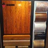 Aparência de madeira de ácer Ideabond placa tipo sanduíche de alumínio (AE-308)