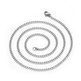 Collana Pendant trasversale della catena a maglia del metallo della collana del Mens