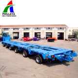 Engenharia pesada Transporter eixos oscilante hidráulico múltiplos Trailer Modular