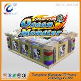 Máquina inglesa del Shooting de 6 del jugador del océano del monstruo pescados de la versión