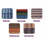 Flat Top Tile Roofing hoja metálica de acero galvanizada Teja