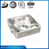 SGSによって証明されるアルミニウム鋼鉄合金の金属の旋盤CNCの機械化の部品
