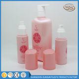 Fonction de couleur rose bouteille de shampoing cosmétique