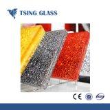 6.38-43.20 Limpar vidro laminado temperado coloridas para a construção