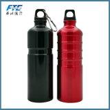 L'alluminio su ordinazione promozionale del metallo mette in mostra la bottiglia di acqua