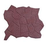 Игровая площадка резиновый коврик пешеходной улицы резиновый пол выложен плиткой