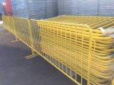 Barriere galvanizzate durevoli dell'acciaio di controllo di folla di concerto