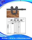 De moderne Vastgestelde Hardware van de Rol van de Staldeur van het Roestvrij staal Glijdende