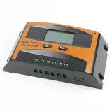 painel solar de 12V/24V 10A/controlador da potência com operação Ld-10A da tecla de LCD+Double