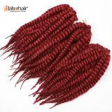 La Havane Mambo Twist Crochet Hair Braid 100% Kanekalon Jumbo Braid Extension de cheveux synthétiques Lbh012