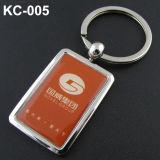 Zinco Keychain con il marchio del laser del cliente