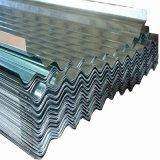 Strato d'acciaio ondulato del tetto galvanizzato Z100 di Dx51d