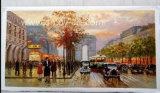 مؤثّر باريس شارع [أيل بينتينغ] منظر طبيعيّ حجم