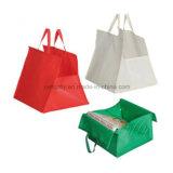 sacchetto di acquisto non tessuto 80g per il sacchetto di Tote del cliente della pizza