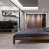Un revêtement de sol en vinyle résidentiels de 4 mm (desserré lay/colle Retour vers le bas/sec/clic)