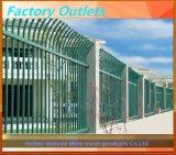 電流を通されたPVCによって塗られる溶接された金網の庭の塀