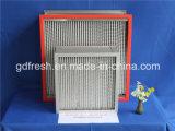 Высокотемпературный упорный воздушный фильтр HEPA для оборудования очистителя воздуха