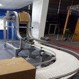 Planta de fabricación de la producción del &Beverage del alimento de la manipulación de materiales transportador de correa modular