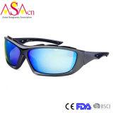 Designer de mode masculin Sport UV400 Protection PC Lunettes de soleil (14365)