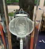 小さいガラス彫版機械内部の彫版