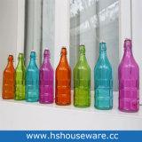 水Juliceのワインによって着色されるガラスビンのための1000ml (1L)