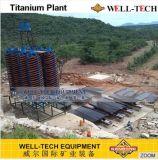 Spiraalvormige Helling voor tantalium-Niobium de Machine van de Vulling van het Erts