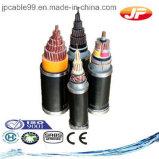 Fil d'acier isolés en polyéthylène réticulé et câble d'alimentation blindés