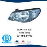 Elantra 2007 Accesorios para automóviles fabricante 92101-2Faro h010 92102-2H010