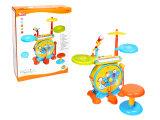Instrumento musical de batería de juguete de plástico de juguete (H2162084)