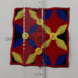 Newest Fashion Colorful Public garden Ethnic Embroidery Patch Garment Accessorye Badge