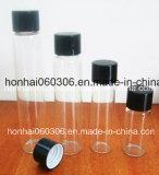 прозрачная стеклянная бутылка дух 8ml с крышкой