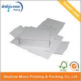 주문 로고에 의하여 인쇄되는 마분지 의류 선물 상자 물결 모양 화물 박스