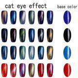 Voyant de liquide de l'Aimant magnétique d'Ongles Cat Eye Gel Polish