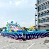 중국 싸게 팽창식 이동할 수 있는 물 실행 공원 활주