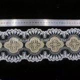 Vestir Net bordados de hilo tejido de encaje guarnecido Water-Soluble textil