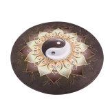 Disegno unico Decorational della stuoia rotonda Premium di yoga