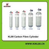 Strumentazione di sicurezza di lotta antincendio respiratore portatile del cilindro del carbonio da 9 litri