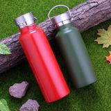 Нержавеющая бутылка восходящего потока теплого воздуха бутылки металла бутылки воды бутылки воды стальная