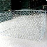 colchão do PVC Gabion de 80*100mm/caixa revestidos de Gabion para a gaiola de pedra
