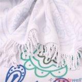 Microfiber напечатало полотенце Mandala с Tassels