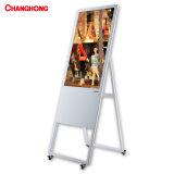 32 polegada SP1000cms (W) Bens móveis publicidade LCD Visor inteligente com o sistema de gerenciamento de conteúdo
